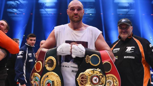 Tyson Fury regresó para luchar luego del despido de 2 años de 'pesadilla'
