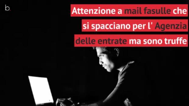 Mail fasulle dell'Agenzia dell'entrate in circolazione sul web