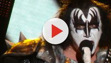 KISS, Gene Simmons and his band concierto en México.