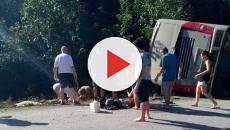VIDEO: Accidente de autobús en México deja 12 muertos y 15 heridos