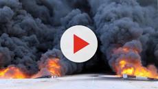 A causa di un'esplosione, è stato interrotto il pompaggio di un oleodotto