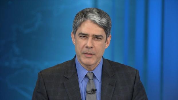 Vídeo - Willian Bonner dá bronca ao vivo no Jornal Nacional