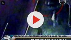 Assista: 'Fantasma' surpreende autoridades do Peru