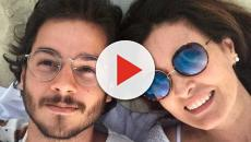 Vídeo: Fátima Bernardes aparece alisando namorado