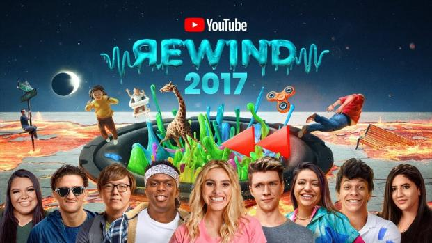 Youtube Rewind 2017: un repaso al año en algunos minutos llenos de detalle