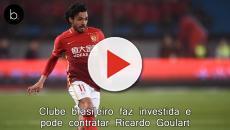 Clube brasileiro faz investida e pode contratar Ricardo Goulart