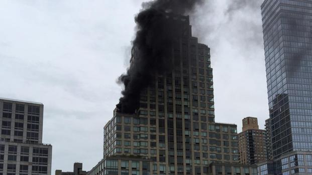 Incendio alla Trump Tower di New York: due feriti