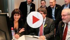VIDEO: Puigdemont propone 'jurar vía Skype'; sus aliados lo rechazan