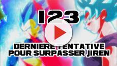 Dragon Ball Super 123 : Nouvelle étape du SSB, Gokû et Vegeta au maximum !
