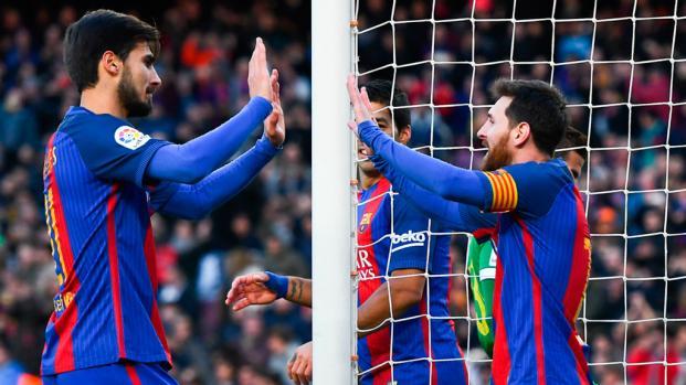 VIDEO: Messi se carga al traidor del vestuario del Barça