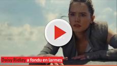 Daisy Ridley pleure en apprenant le destin de Rey dans Star Wars 9 !