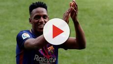 Vídeo: Após chegar no Barça, Mina impressiona ao mandar recado ao Palmeiras