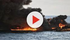 Una petroliera, è affondata nel Mar della Cina