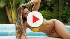 Vídeo: Viviane Araújo mostra demais ao usar biquíni