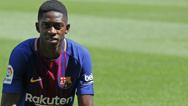 Dembélé sale de tres a cuatro semanas con una lesión: Barcelona