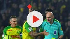 Ligue 1: L'arbitre Tony Chapron revient sur l'incident du carton rouge