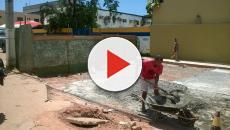 Vídeo: neto mata avó, enterra e manda cimentar o quintal no Rio
