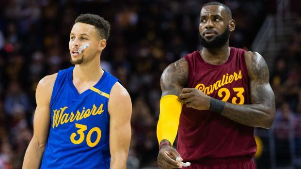 LeBron y Curry lideran la segunda votación para el Juego de Estrellas de la NBA