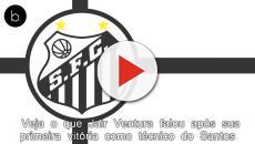 Veja o que Jair Ventura falou após sua primeira vitória como técnico do Santos