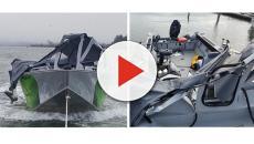 Usa, non vede la barca e la travolge: i pescatori si salvano buttandosi in acqua