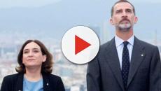 VIDEO: Vuelve Ada Colau a arremeter en contra de Felipe VI