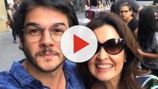 Vídeo: Túlio Gadelha perde o emprego e Fátima Bernardes anima o namorado