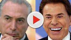 Em entrevista, Temer oferece 50 reais a Silvio Santos e resposta surpreende