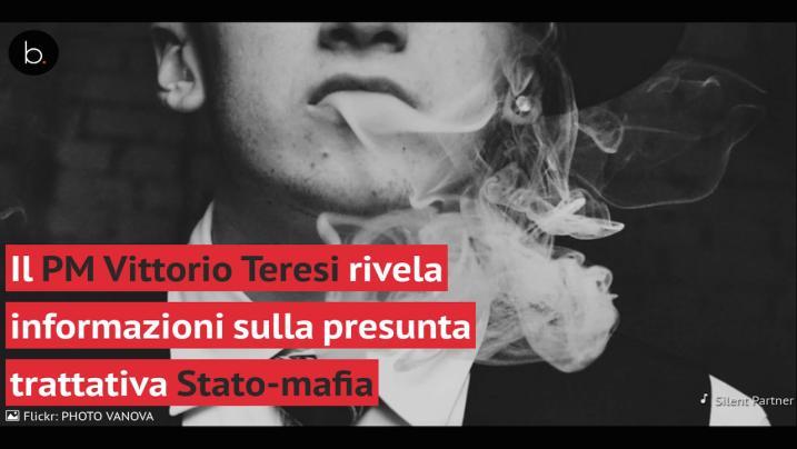 Le rivelazioni sulla trattativa Stato-mafia