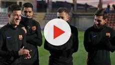 Vídeo: Coutinho confiesa a Messi y Suárez el próximo fichaje del Madrid