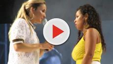 Assista: Claudia Leitte se irrita com fã em show: 'Para de fazer selfie!'