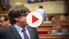 Puigdemont apela a una solución política al conflicto catalán