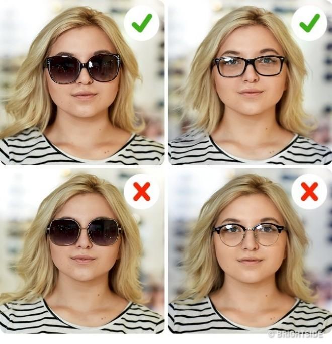 29f3f3a35 Pessoas com esse tipo de rosto têm as medidas entre a largura e o  comprimento do rosto semelhantes. Para conseguir esse efeito, a largura da  armação deve ...