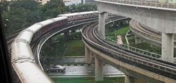 Sciopero dei treni il 15 novembre del 2013.