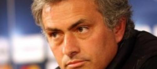 Josè Mourinho in conferenza stampa