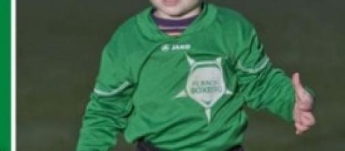 Bryce Brites, calciatore a 20 mesi