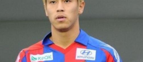 Keisuke Honda è un giocatore del Milan