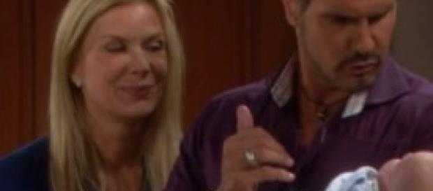Bill e Brooke protagonisti di Beautiful