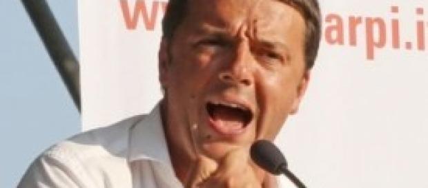 Renzi sfida grillo dal palco dell'Assemblea del PD