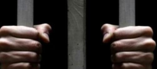 Un'immagine da un carcere italiano