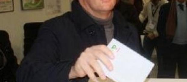 Renzi in una foto sulla sua pagina facebook