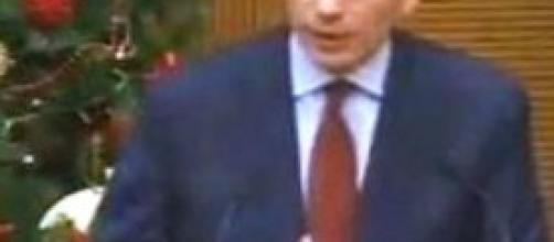Il premier Enrico Letta, conferenza fine anno