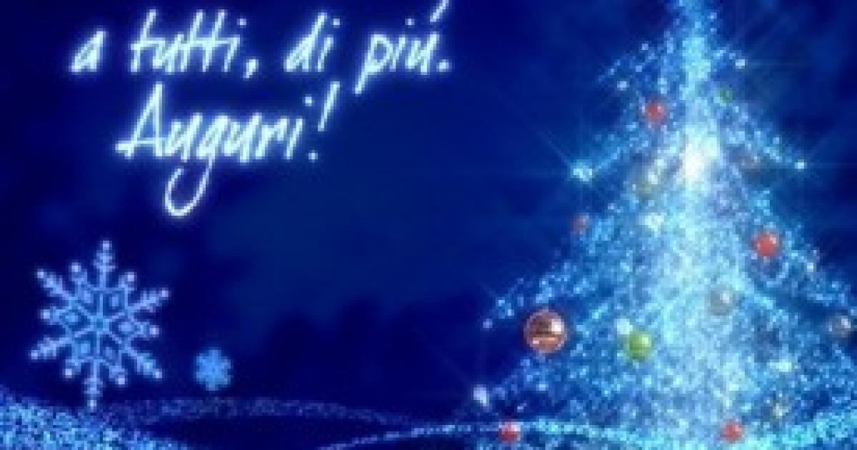 Messaggi Di Auguri Per Natale.Auguri Di Natale Frasi Di Auguri Per Natale E Biglietti Per I Tuoi