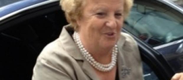 Ministro della Giustizia Annamaria Cancellieri,