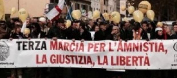 Marcia di Natale per l'amnistia
