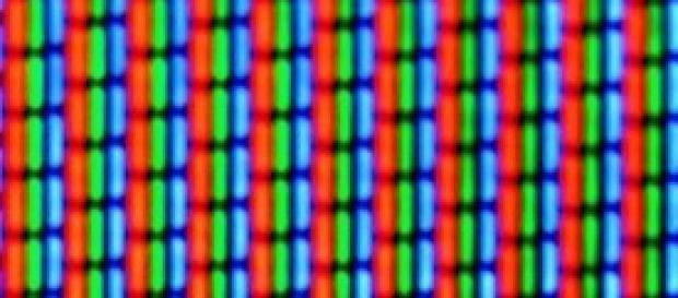 lo zoom di un teleschermo catodico