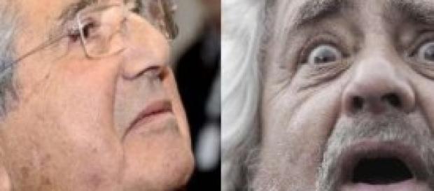 Web-Tax, Beppe Grillo contro Carlo De Benedetti