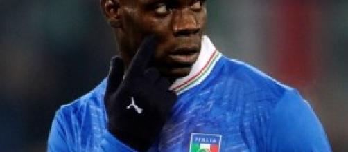 Mario Balotelli attaccante del Milan