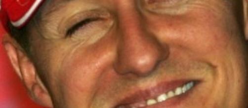 Schumacher con la divisa della Ferrari
