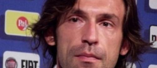 Andrea Pirlo, centrocampista della Juventus