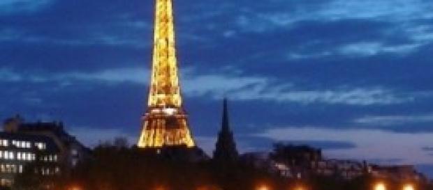 Parigi di notte, preferita dagli italiani
